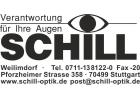 Herzlich Willkommen bei Augenoptik Schill